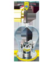 mercury lowboy floor machine